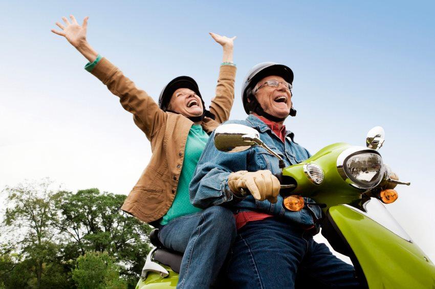 Отдых пенсионеров осенью