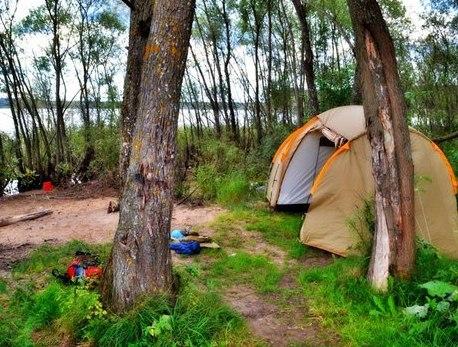 Приятный отдых с палатками